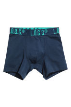 3-pack boxer shorts - Dark blue - Kids | H&M CN 2